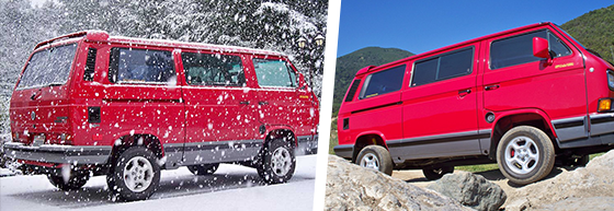 Conversions :: Vanagon 2WD to Syncro Conversion