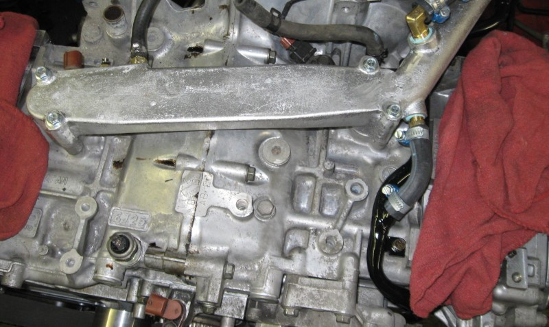 Coolant bypass installed photo